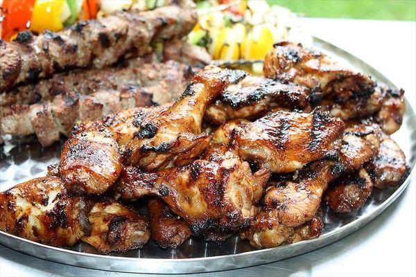 Grilled Huli Huli Chiken Wings