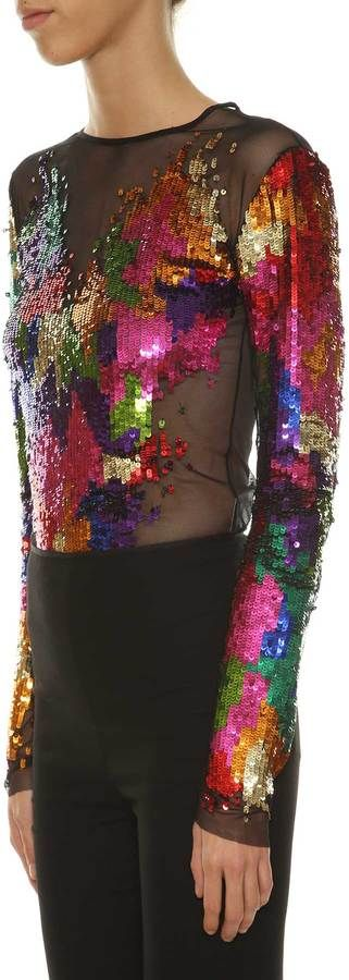 Amen Sequins Bodysuit