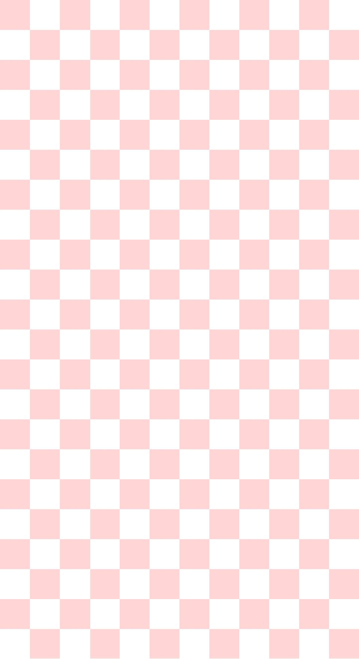 pink checkered wallpaper iphone