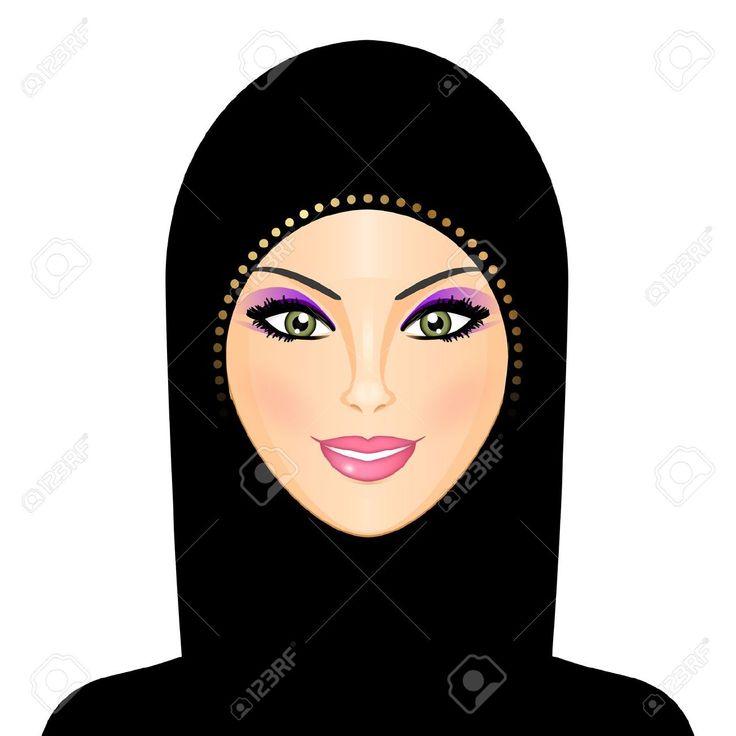 hijab types illustration - Google Search