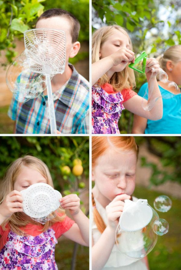 Мыльные пузыри: идеи, рецепты, инвентарь | Всё для развития ребенка