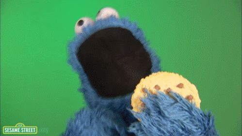 "If ""C is for cookie,"" why is that good enough for him?    Is this because Cookie Monster has renounced all his worldly possessions and all he needs is one letter? Is C an enigma that requires too much effort to comprehend? Or perhaps Cookie Monster just has low standards? CAN'T HANDLE THE MYSTERY."