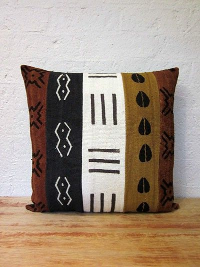 Mudcloth Cushion Cover #16 - Just Africa Art Gallery and Retail Shop - Buy Handcrafted Art and Gifts from a Reputable Art Dealer