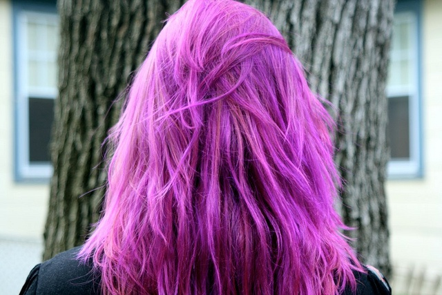 magenta: Hair Ideas, Hair 3, Hair Colors, Magenta Hair, Pink Purple Hair, Hair Fave, Hair Fling, Hair Makeup Beautiful, Colors Hair