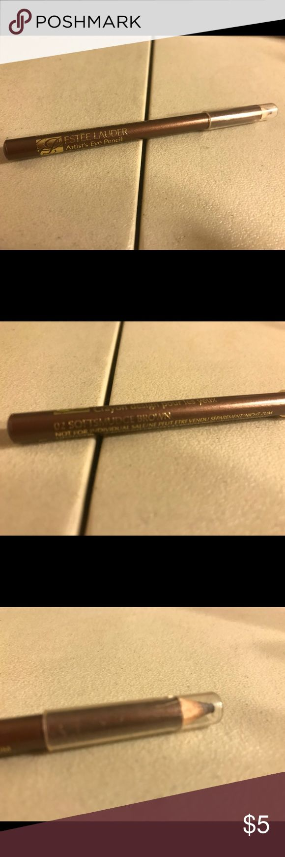 Estée Lauder artist's eye pencil Estée Lauder artist's eye pencil in color 02 softsmudge brown, used. Thanks for checking out Luxury1cosmetics!! Offers are welcomed, bundles are discounted!! Estee Lauder Makeup