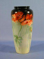 American Belleek Hand Painted Vase $ 859