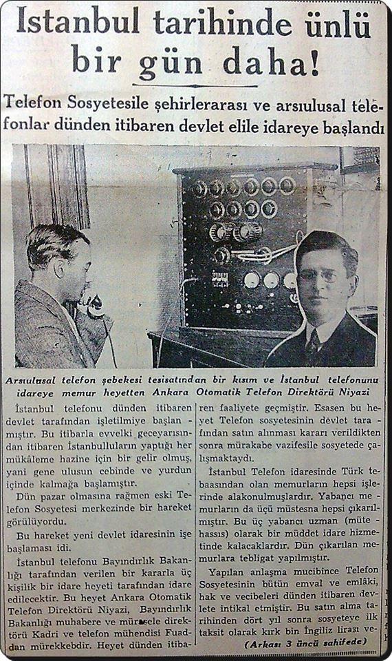 2 Eylül 1935 - Cumhuriyet gazetesi