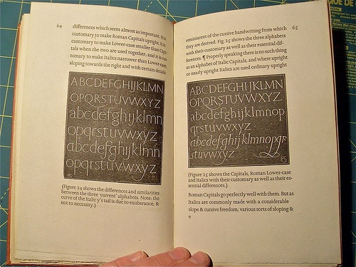 eric gill essay on typography Eric gill's opinionated manifesto on typography argues that 'a good piece of lettering is as beautiful a thing to see as any sculpture or painted picture.