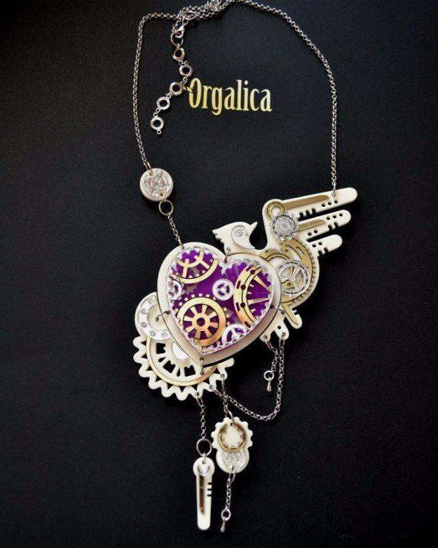 "Steam punk"" колье (necklace)  Доступны к заказу! (⤴Подробности в Директ) 📪📫📭📬Доставка по всему миру. Available to order! (⤴ Details Direct) 📪📫📭📬 shipping worldwide.  #Оргалика#Orgalica#колье#fashion#fashionaccessories#acsessories#acrylic#a#весна2016#necklace#steampunkstyle#steampunkfashion#steampunk#jewellery#jewelry#российскиедизайнеры#россия#массивноеколье"