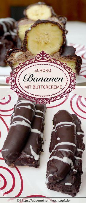 Schoko Bananen Eine Göttliche Fügung Baking Desserts Baking