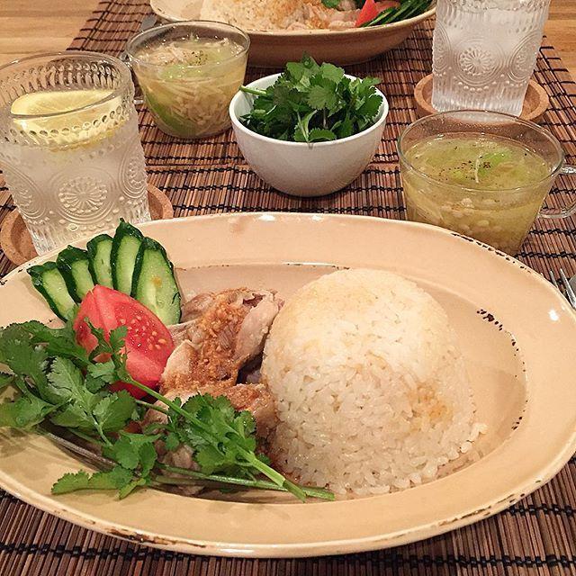 hi_rose80 on Instagram pinned by myThings Today's dinner .  困った時のカオマンガイでこんばんは☺︎ .  もちろん追パク✨ .  ごちそうさまでした! . .  #dinner #homemade #singaporechickenrice #foodie #foodpic #foodporn #kaumo #kurashirufood #cookingram #delistagrammer #クッキングラム#デリスタグラマー#夕飯#夕食#晩ごはん#おうちごはん#海南鶏飯 #シンガポールチキンライス#新米ママ #男の子ママ #生後9ヶ月 #9months #5月生まれ