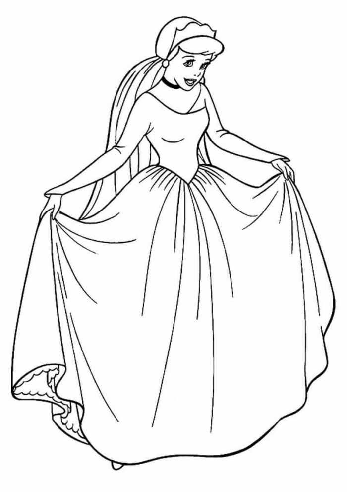 Printable Princess Coloring Pages Princess Coloring Pages