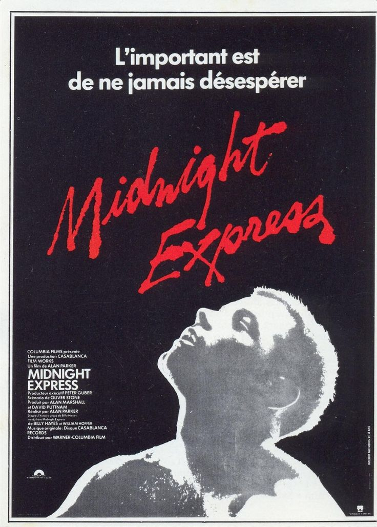 Risultati immagini per midnight express poster