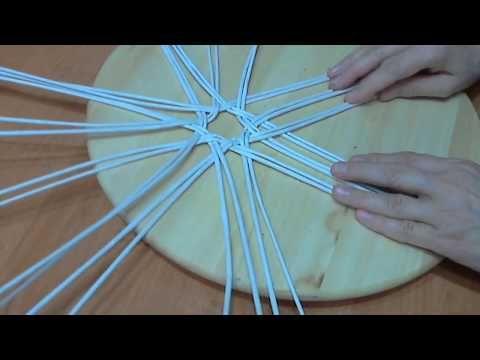мк хлебницы из трех лепестков в основании - YouTube