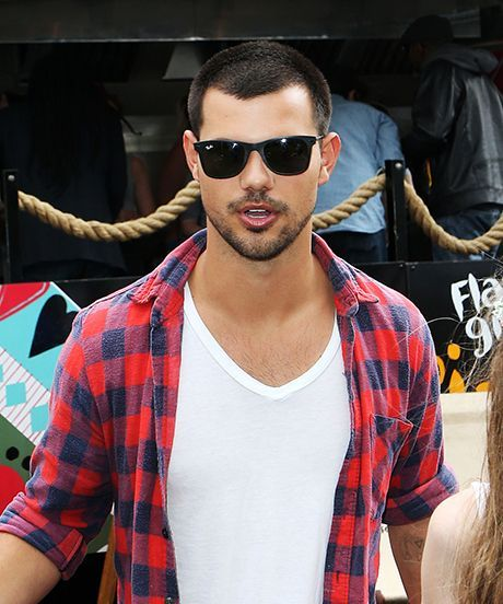 Taylor Lautner Photographing Wireless Festival | Taylor Lautner was spotted taking pictures at the Wireless Festival in London over July Fourth weekend. #refinery29 http://www.refinery29.com/2015/07/90267/taylor-lautner-photography-wireless-festival
