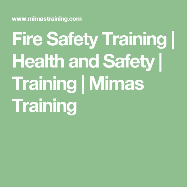 Fire Safety Training | Health and Safety | Training | Mimas Training