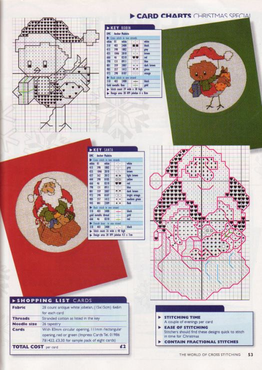 Gallery.ru / Фото #39 - The world of cross stitching 001 рождество 1997 - WhiteAngel