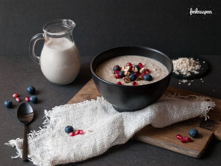 Hirseporridge, glutenfreier Frühstücksbrei, freiknuspern - Rezepte für Allergiker