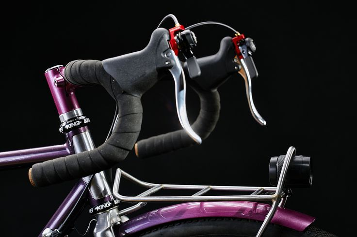#pilisiecki #crossbicycle #columbus #schmidt #dtswiss #selleitalia #pi #custom #bikerack #bicyceframe #bespoke #newbike #pink #eggplant #bikeporn #gravel #steelisreal #steel #trp #chrisking #ritchey #brooks #retroshift #paragonmachineworks #columbusXCR