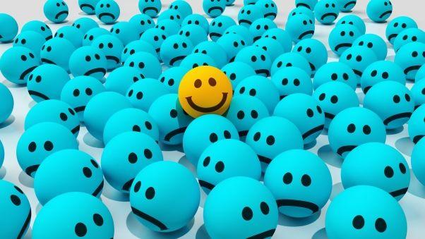 Wallpaper smiles, joy, sadness