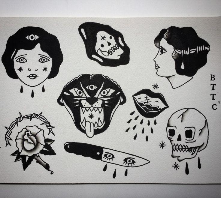 Dostępne wzorki ✌️ #allspit #blxckink #blackwork #trflash #trad_tattooflash #tattoo #warsawtattoo #tatuaż #oldschool #ilustracja #rose #illustration  #grimreaper #flashaddicted #flashworkers #traditionaltattoo #oldschooltattoo #spitshade #cool #roses #warszawa #oldlines #lublin #greyspit #doodle #rosetattoo #eagle #instaart #darkartists  #doodles