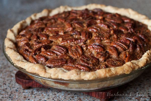 Classic Pecan Pie by one of my favorite bakers @Barbara Bakes {Barbara Schieving}