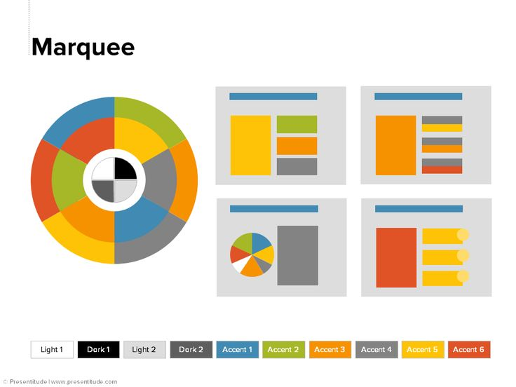 PowerPoint 2013: Color theme #20: Marquee