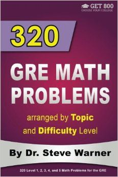 21 best gre images on pinterest graduate school gym and learning 320 gre math problems arranged by topic and difficulty level 160 gre questions with solutions 160 additional questions with answers fandeluxe