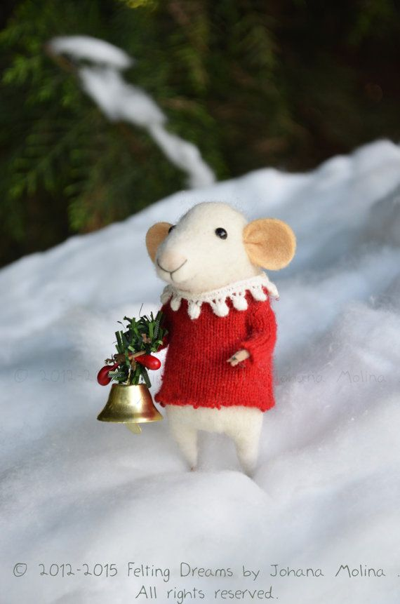 Little Christmas Mouse