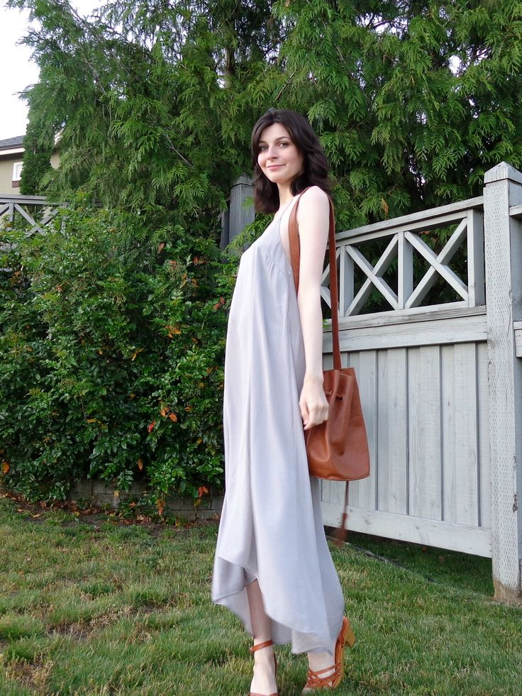 Bohemian Summer Lilac Maxi Dress Outfit