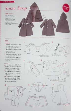 Dolly Dress Book Tiny Clothes - Diana Gil - Picasa Web Albums