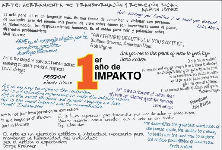 Gracias por acompañarnos en este 1er Año de IMPAKTO!!!