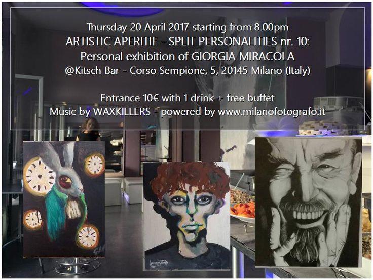 Nightlife in Milan, Italy: Artistic Aperitif at Kitsch Bar - english page