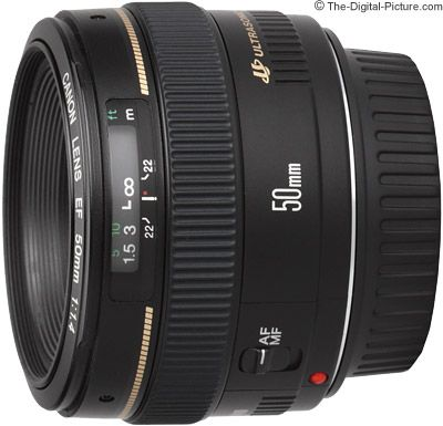Next on my list: the Canon EF 50mm f/1.4 USM... I must have this portrait lens. $360 is the cheapest I've seen it go... Definitely not a problem for me. ;)