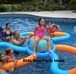 Looking for kids pool party ideas? Go to www.PoolFunforEveryone.com/