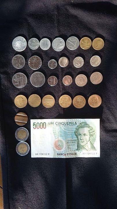Mie vecchie monete...vai col vintage