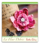 felt flower by Heather Bailey.