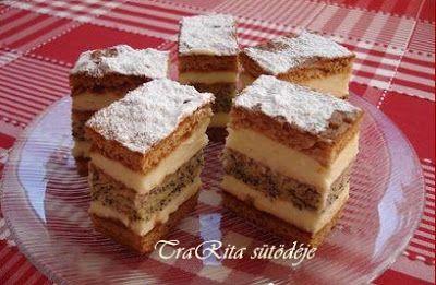 TraRita sütödéje és egyéb munkái : Mákos mézes