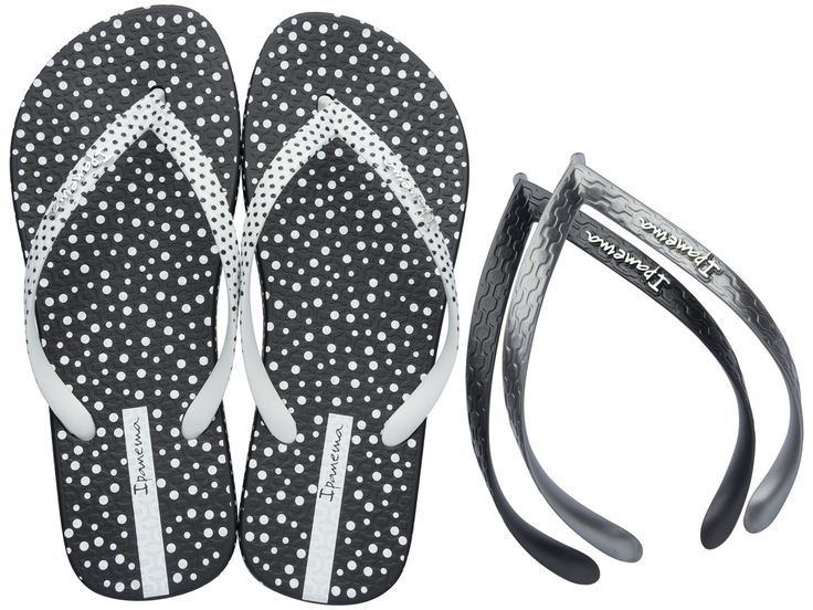 Ipanema sandals switch straps - Polka dot!!
