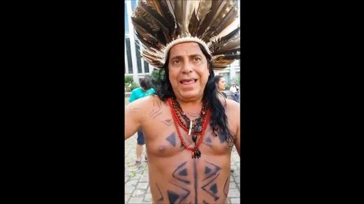 Casé Angatu fala da luta dos Tupinambás e do Seminário Índio Caboclo Mar...