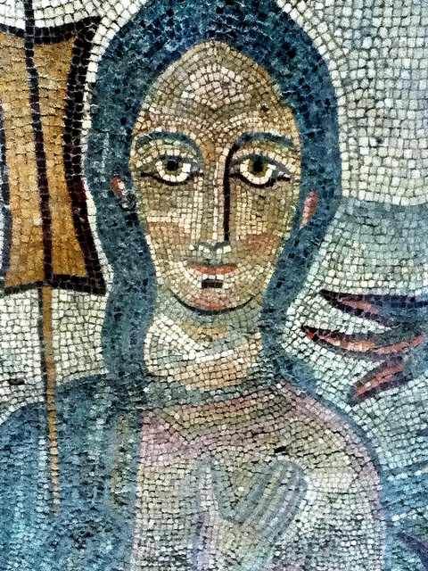 70 Best Mosaic Faces Old And New Images On Pinterest
