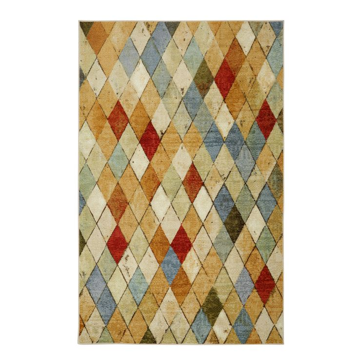 Mohawk Home Strata Tan Area Rug