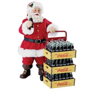 Shop for Kurt Adler 10.5-inch Coca Cola Santa with Delivery Cart (2-piece Set). Get free shipping at Overstock.com - Your Online Home Decor Outlet Store! Get 5% in rewards with Club O!
