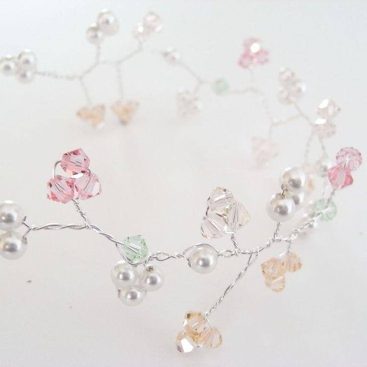 Bridal Hair Vine   JewelryLessons.com