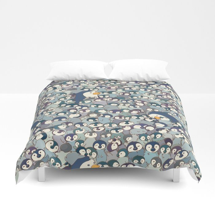Buy Baby Penguin Pattern Duvet Cover by strijkdesign. Worldwide shipping available at Society6.com. Just one of millions of high quality products available.