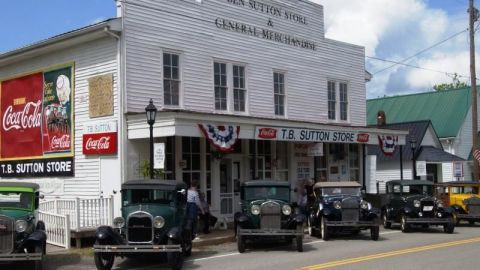 This two-story emporium still carries some of the same products it stocked 90 years ago. Inside, you'll find fixtures original to the building, a family-style country restaurant, and a corner stage that showcases bluegrass bands on Saturday nights. granvilletn.com