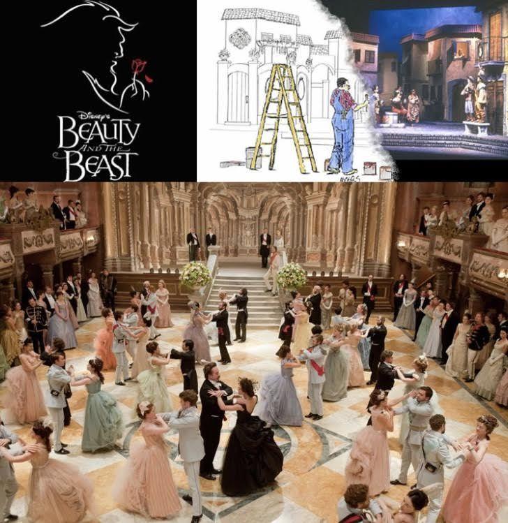 Sarah Greenwood Production Designer Disney Beauty And The Beast Beauty And The Beast Greenwood