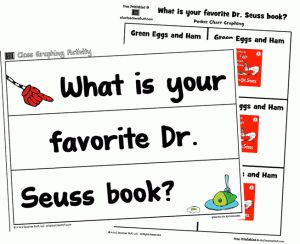 (updated) Favorite Dr. Seuss Book Graphing Printables 10+ pages {free} http://atoztea.ch/wCqOqW