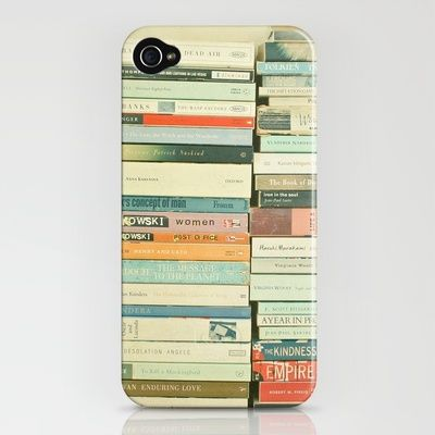book stacks iPhone case