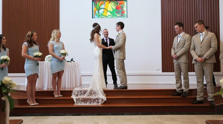 The chapel at the Royal Pines resort on the Gold Coast. Another great venue to host a wedding.